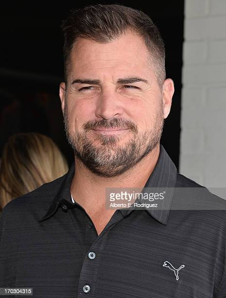 Actor George Eads attends the Screen Actors Guild Foundation 4th Annual Los Angeles Golf Classic at Lakeside Golf Club on June 10 2013 in Burbank...