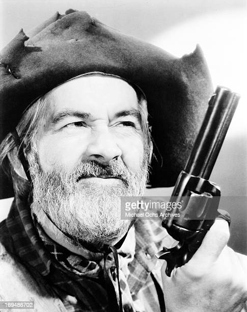 Actor George 'Gabby' Hayes poses for a portrait in circa 1955