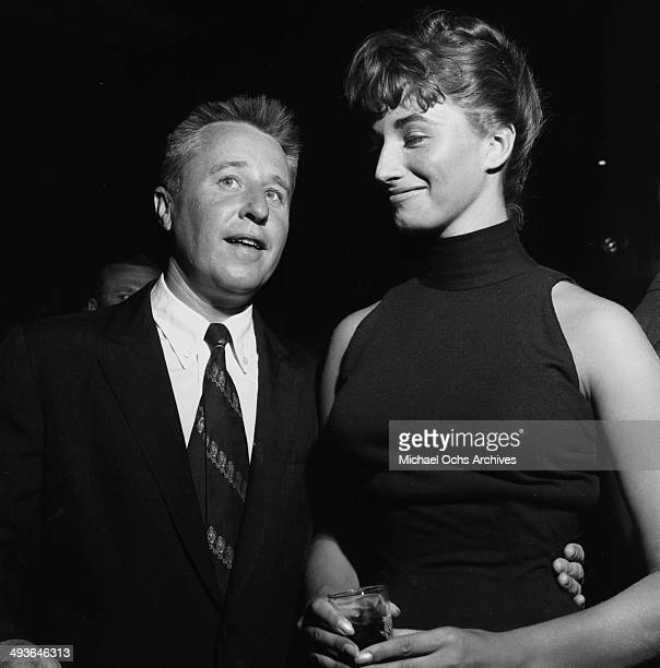 Actor George Gobel and his wife Alice attend at party in Los Angeles California