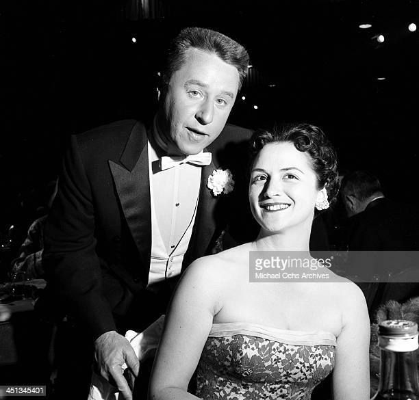 Actor George Gobel and his wife Alice attend the Emmy Awards in Los Angeles California