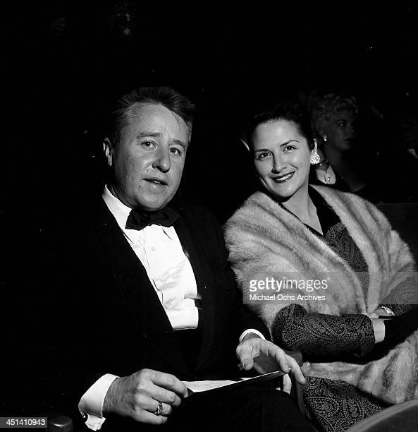 Actor George Gobel and his wife Alice attend the premiere of Bundle of Joy in Los Angeles California