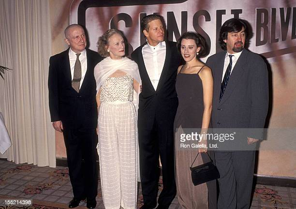 "Actor George Hearn, actress Glenn Close, actor Alan Campbell and actress Judy Kuhn attend the ""A Night to Fight Diabetes"" Benefit Preview Performance..."