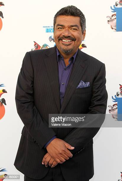 Actor George Lopez arrives to the Sneak Beak Screening Of 20th Century Fox's Rio on January 28 2011 in Los Angeles California