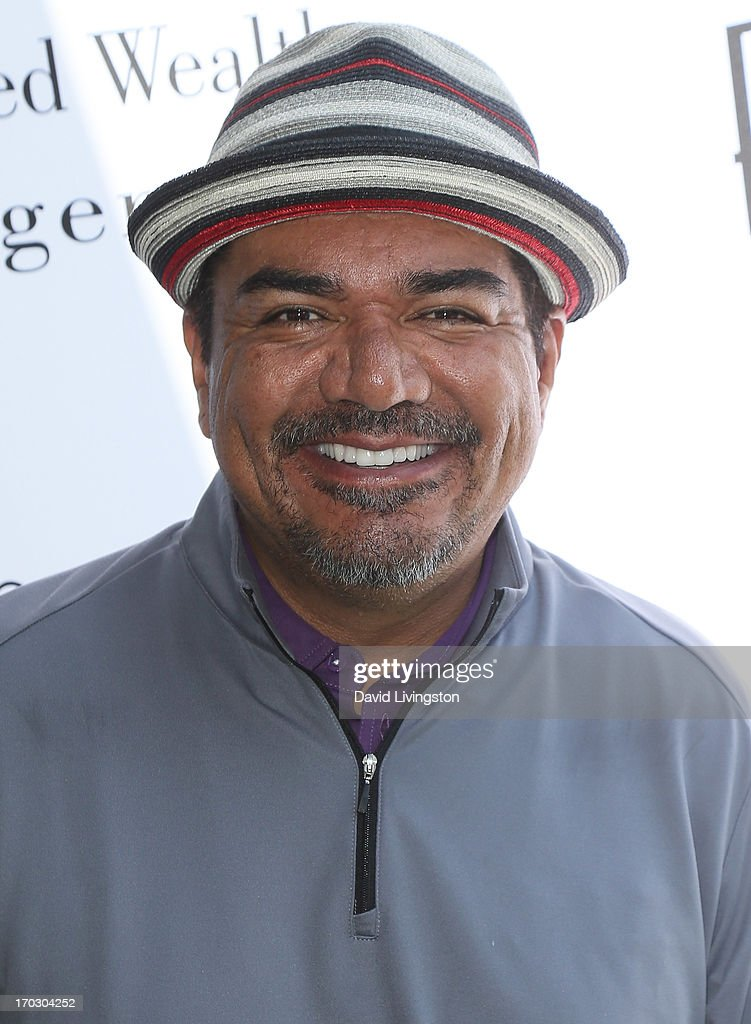 Actor George Lopez attends the Screen Actors Guild Foundation 4th Annual Los Angeles Golf Classic at Lakeside Golf Club on June 10, 2013 in Burbank, California.