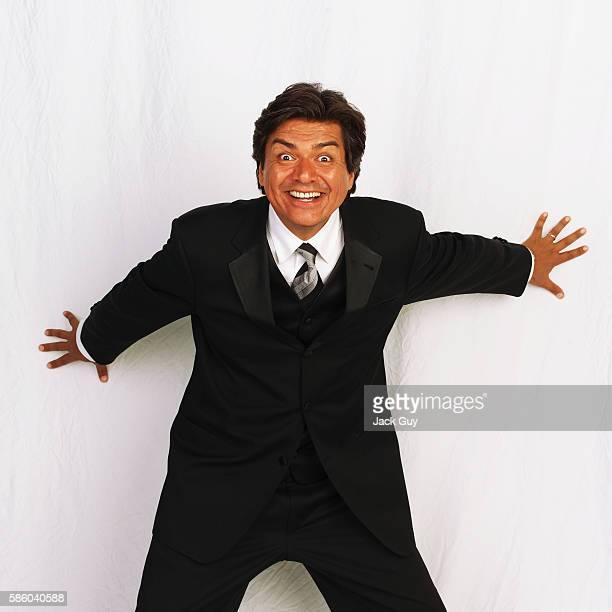 Actor George Lopez is photographed for Emmy Magazine at the 55th Annual Emmy Awards on September 21 2003 in Los Angeles California