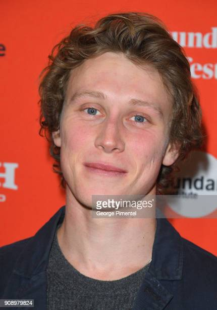 Actor George MacKay attends the Ophelia Premiere during 2018 Sundance Film Festival at Eccles Center Theatre on January 22 2018 in Park City Utah