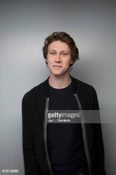 Actor George MacKay from the film 'Ophelia' is photographed for Los Angeles Times on January 22 2018 in the LA Times Studio at Chase Sapphire on Main...