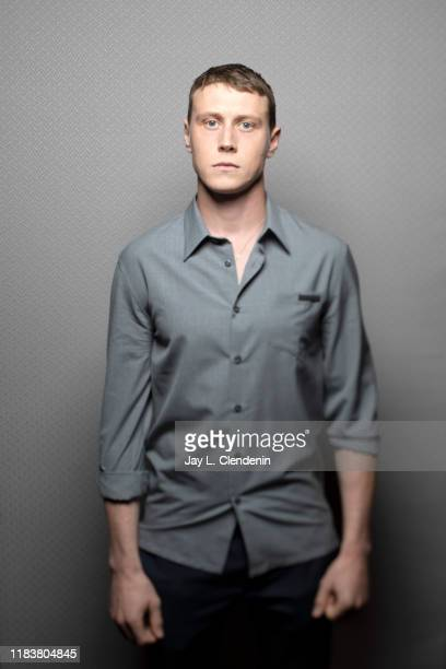 Actor George Mackay from 'The True History of The Kelly Gang' is photographed for Los Angeles Times on September 9, 2019 at the Toronto International...