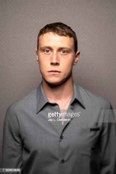 Actor George Mackay from 'The True History of The Kelly Gang' is photographed for Los Angeles Times on September 9 2019 at the Toronto International...