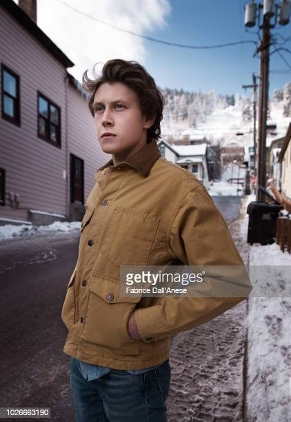 Actor George MacKay is photographed for Self Assignment on January 2018 in Park City Utah