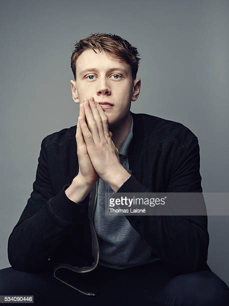 Actor George MacKay is photographed for Self Assignment on May 18 2016 in Cannes France