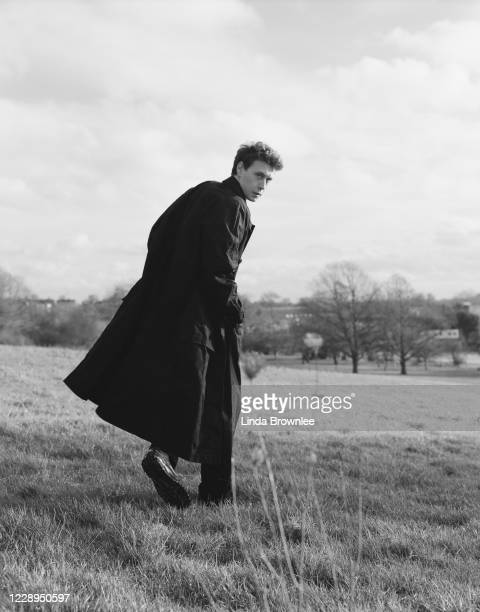 Actor George MacKay is photographed for the Guardian on January 31, 2020 in London, England.