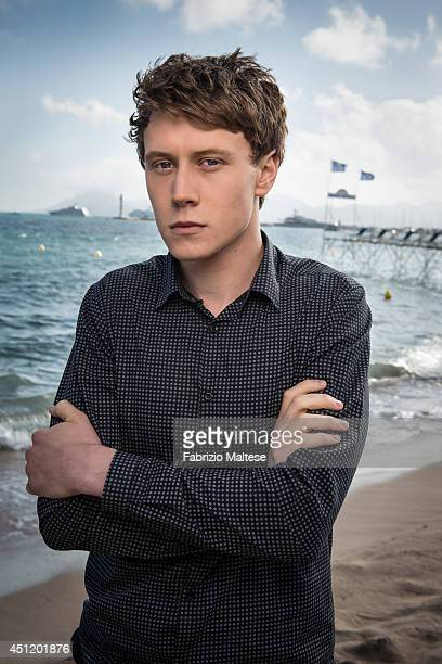 Actor George MacKay is photographed in Cannes, France.