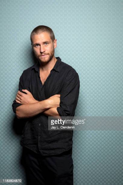 Actor George Mason from 'Dirt Music' is photographed for Los Angeles Times on September 9, 2019 at the Toronto International Film Festival in...