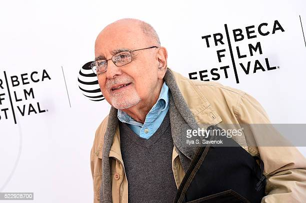 Actor George Morfogen attends the Tribeca Talks After The Movie Starring Austin Pendleton at SVA Theatre 2 on April 21 2016 in New York City
