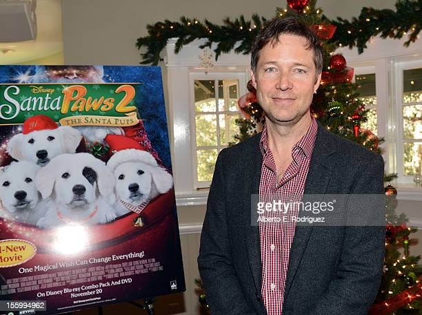 Actor George Newburn attends the 'Santa Paws 2 The Santa Pups' holiday party hosted by Disney Cheryl Ladd and Ali Landry at The Victorian on November...