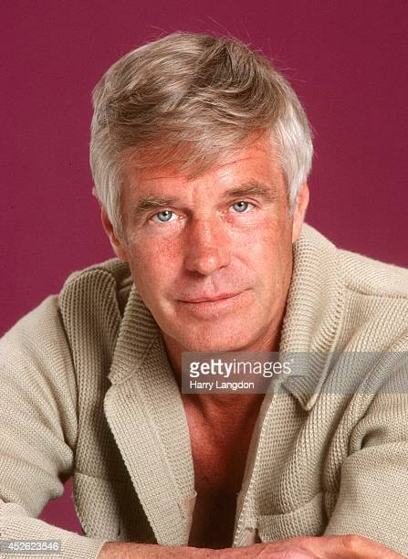 Actor George Pappard poses for a portrait in 1982 in Los Angeles, California.