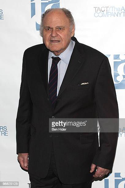 Actor George S Irving attends The Actors Company Theatre's 2010 Spring Gala at The Edison Ballroom on May 3 2010 in New York City