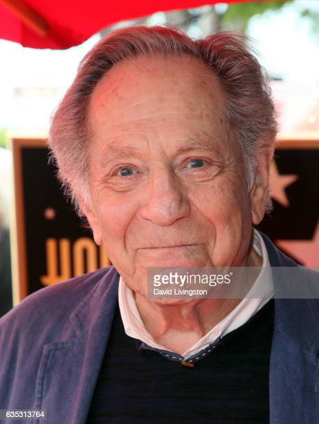 Actor George Segal attends his being honored with a Star on the Hollywood Walk of Fame on February 14, 2017 in Hollywood, California.