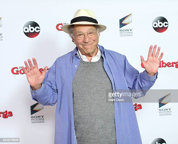 Actor George Segal attends 'The Goldbergs' press event held at the Moonlight Rollerway on September 3, 2014 in Glendale, California.
