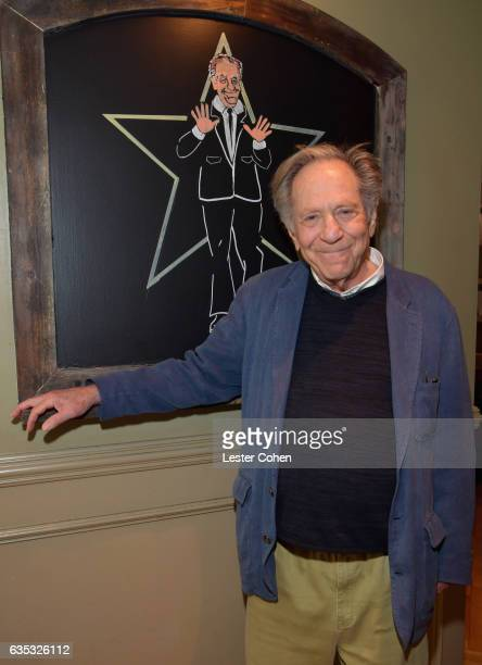 Actor George Segal is honored with a star on The Hollywood Walk Of Fame on February 14, 2017 in Los Angeles, California.