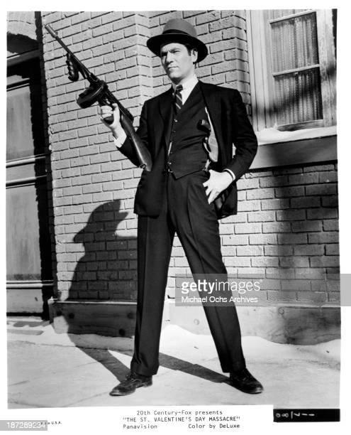 Actor George Segal of the 20th CenturyFox movie The St Valentine's Day Massacre in 1967