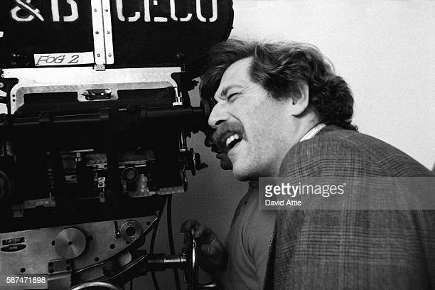 Actor George Segal on the set of the film 'Where's Poppa' in 1970 in New York City New York
