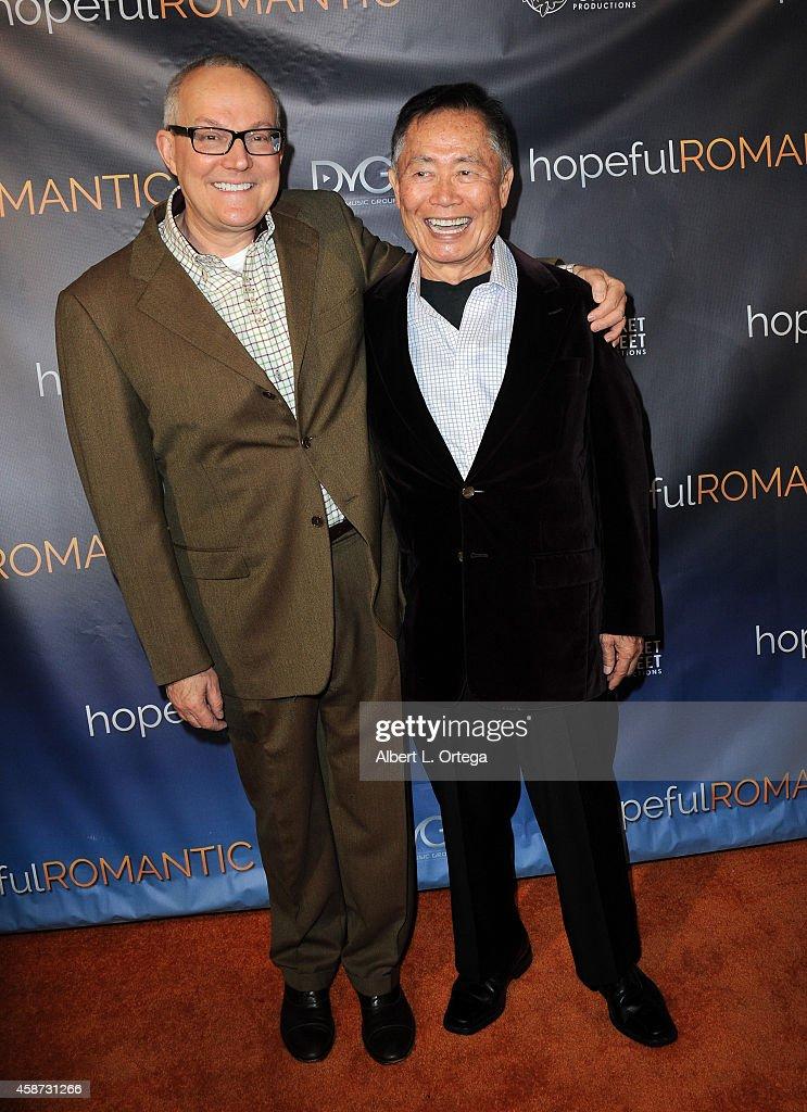 "Special Screening of Matt Zarley's ""hopefulROMANTIC"" With George Takei : News Photo"