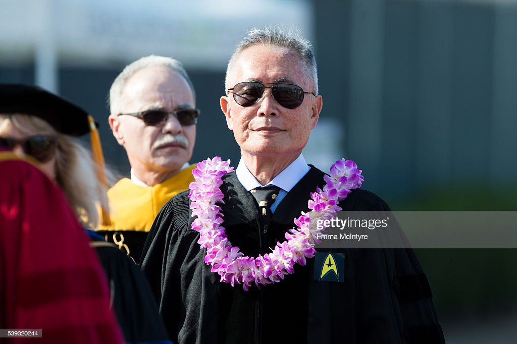 Actor George Takei And President Of Cal State La William A Covino News Photo Getty Images