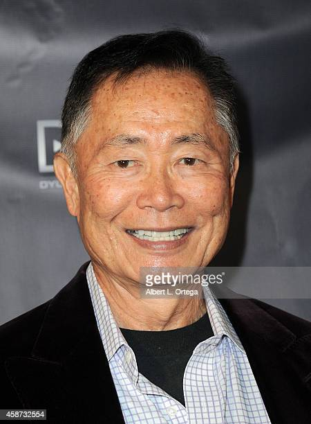 Actor George Takei arrives for the Special Screening of Matt Zarley's hopefulROMANTIC With George Takei held at American Film Institute on November 9...