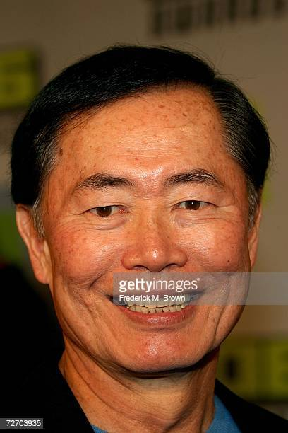 Actor George Takei arrives to the VH1 Big in '06 Awards held at Sony Studios on December 2 2006 in Culver City California