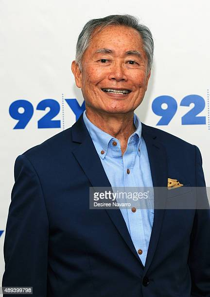 Actor George Takei attends George Takei In Conversation With Jordan Roth at 92Y on September 20 2015 in New York City