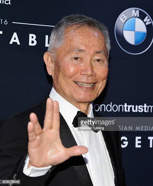 Actor George Takei attends the 15th Annual Unforgettable Gala at The Beverly Hilton Hotel on December 10 2016 in Beverly Hills California