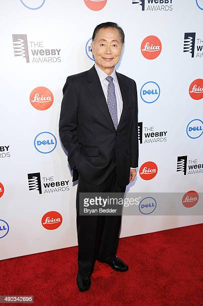 Actor George Takei attends the 18th Annual Webby Awards on May 19 2014 in New York City