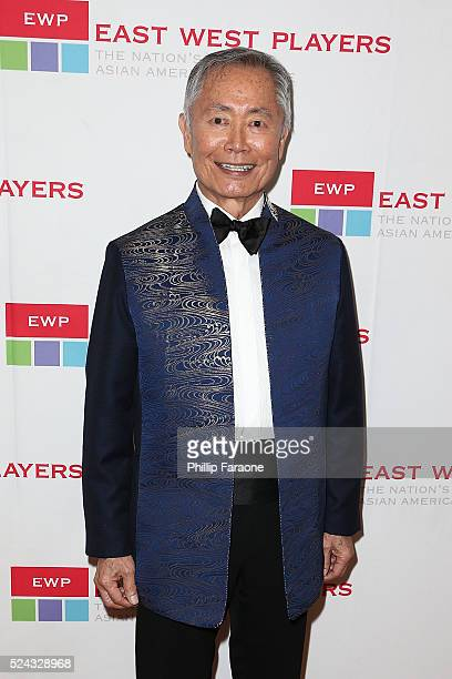 Actor George Takei attends the East West Players 50th Anniversary Visionary Awards Dinner and Silent Auction at Hilton Universal City on April 25...