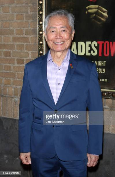 Actor George Takei attends the Hadestown opening night at Walter Kerr Theatre on April 17 2019 in New York City
