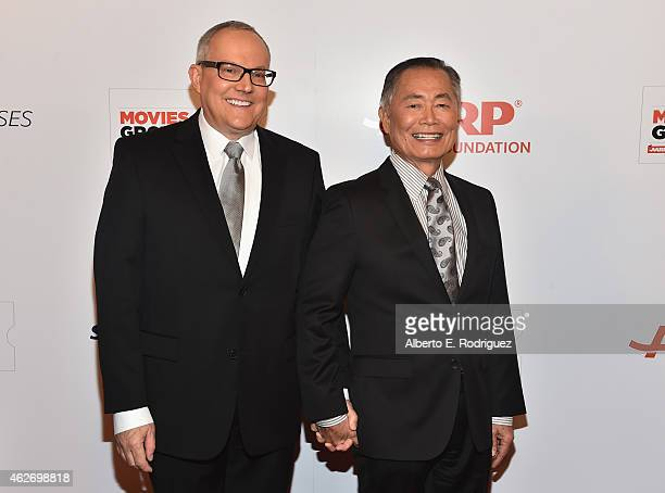 Actor George Takei Brad Takei arrives to AARP The Magazine's 14th Annual Movies For Grownups Awards Gala at the Beverly Wilshire Four Seasons Hotel...