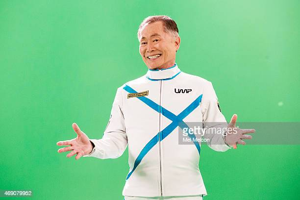 MONICA CA MARCH 07 2015 Actor George Takei is photographed for Los Angeles Times on April 6 2015 in Hollywood California PUBLISHED IMAGE CREDIT MUST...