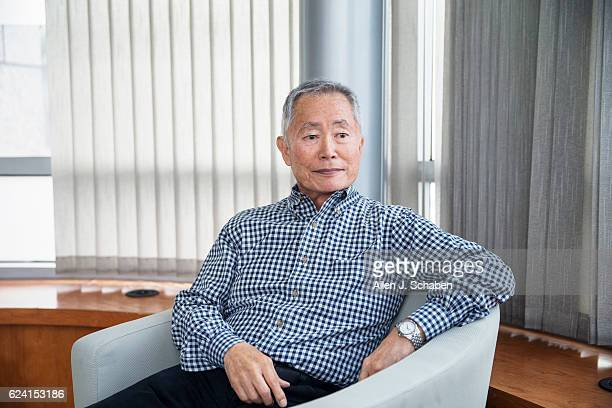 Actor George Takei is photographed for Los Angeles Times on November 1 2016 in Los Angeles California PUBLISHED IMAGE CREDIT MUST READ Allen J...