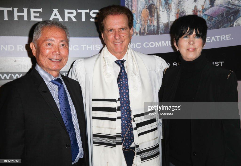 Actor George Takei, Rabbi David Baron, Songwriter Diane