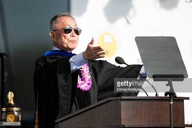 33 George Takei Receives Honorary Doctorate From Cal State La Photos And Premium High Res Pictures Getty Images