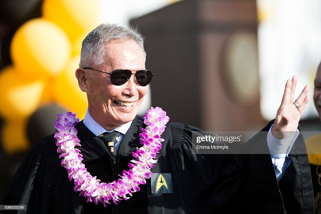 Actor George Takei Receives An Honorary Doctorate Degree From Cal News Photo Getty Images