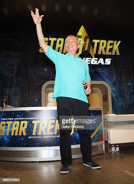 Actor George Takei speaks during the 15th annual official Star Trek convention at the Rio Hotel & Casino on August 5, 2016 in Las Vegas, Nevada.