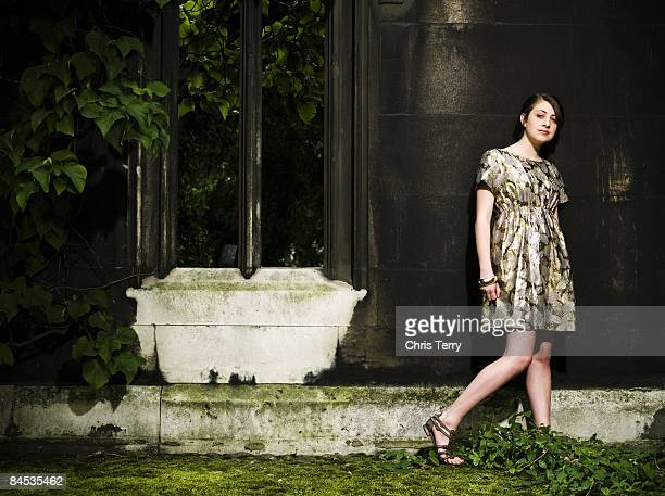Actor Georgia Groome poses for a portrait shoot in London for S magazine on June 6 2008