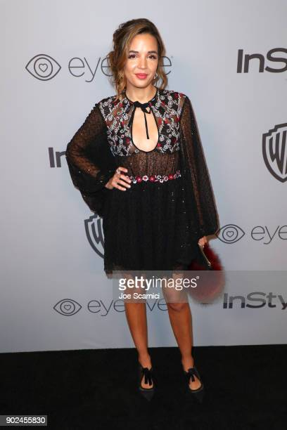 Actor Georgie Flores attends the 2018 InStyle and Warner Bros 75th Annual Golden Globe Awards PostParty at The Beverly Hilton Hotel on January 7 2018...