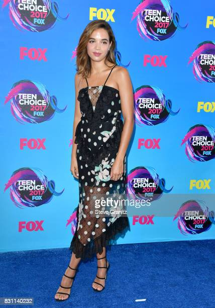 Actor Georgie Flores attends the Teen Choice Awards 2017 at Galen Center on August 13 2017 in Los Angeles California