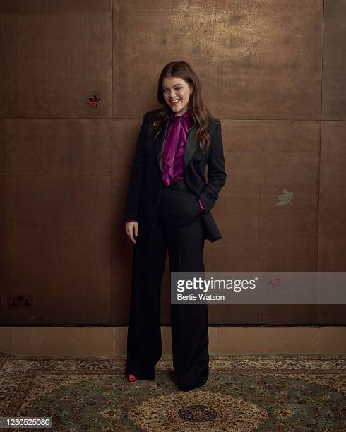 Actor Georgie Henley is photographed on October 28, 2020 in London, England.