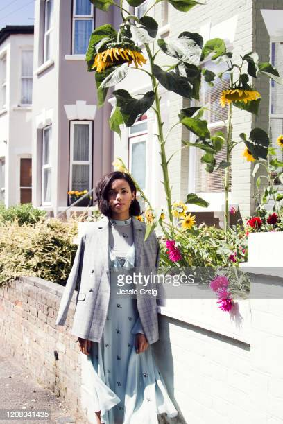 Actor Georgina Campbell is photographed for the Picture Journal on August 18 2017 in London England