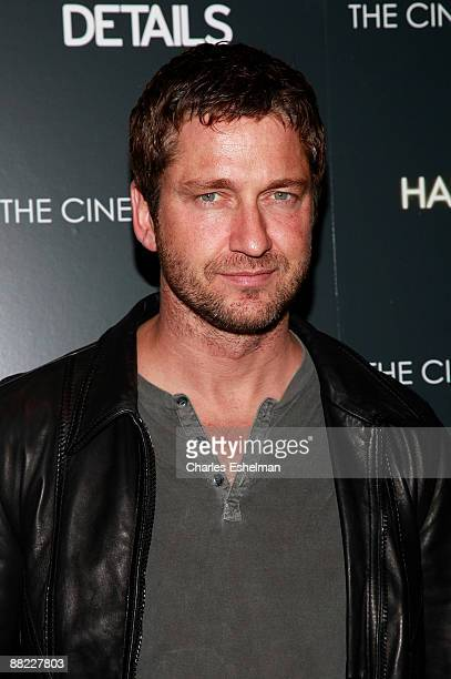 Actor Gerald Butler attends a screening of The Hangover hosted by the Cinema Society and Details at the Tribeca Grand Screening Room on June 4 2009...