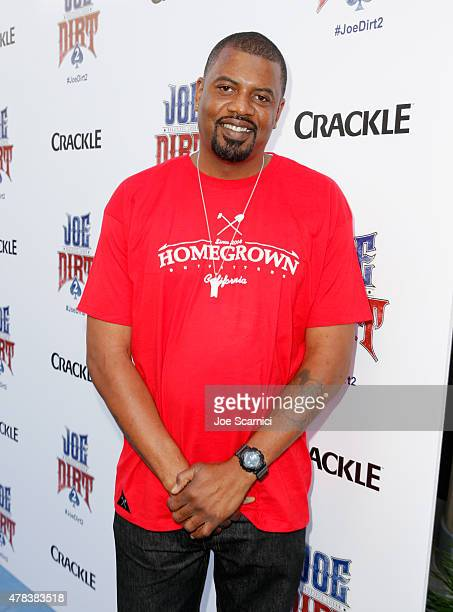 Actor Gerald Johnson attends the world premiere of Crackle's Joe Dirt 2 Beautiful Loser at Sony Pictures Studios on Wednesday June 24 2015 in Culver...